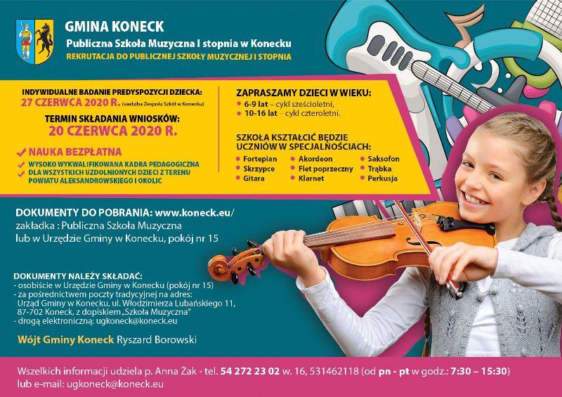 Szkoła Muzyczna w Konecku