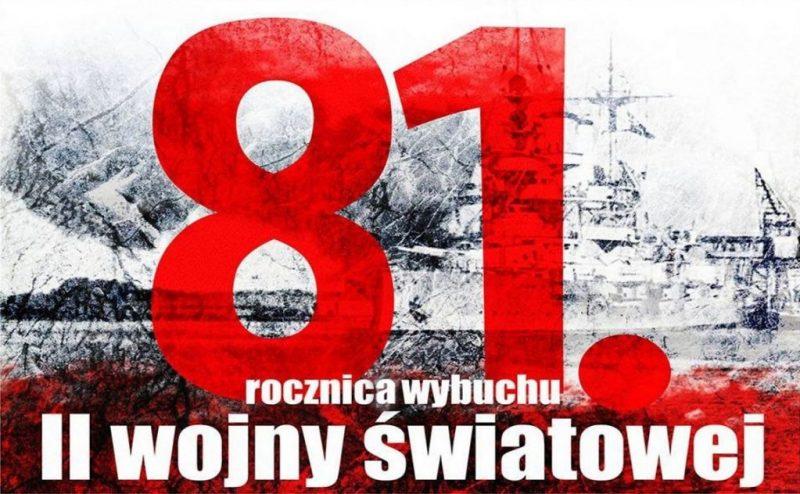 81. rocznica II Wojny Światowej
