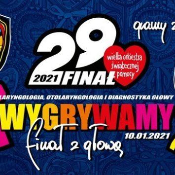 """""""FINAŁ Z GŁOWĄ"""" – WOŚP 2021"""