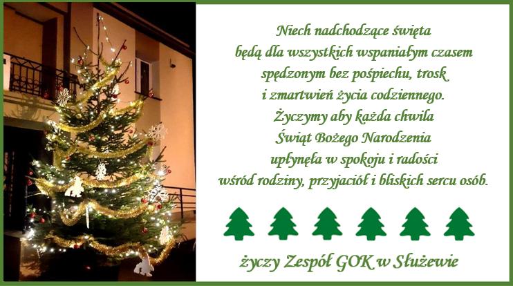 Życzenie Świąteczne
