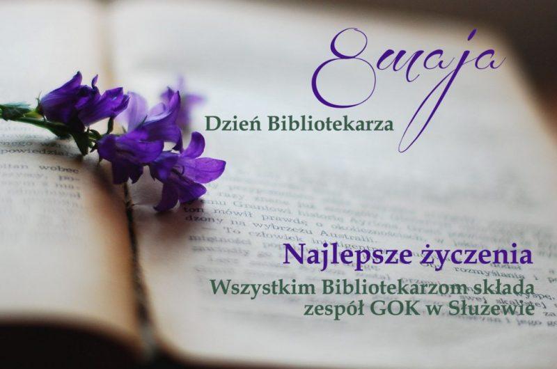 Dziś 8 maja- Święto Bibliotekarza
