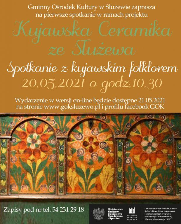 Kujawska ceramika ze Służewa – Spotkanie z kujawskim folklorem