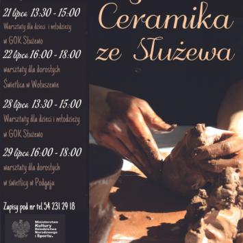Warsztaty lepienia z gliny – Kujawska Ceramika ze Służewa