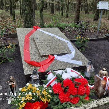 Uroczystości upamiętniające ofiary II Wojny Światowej w odoliońskim lesie