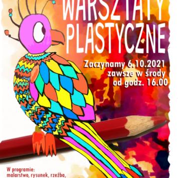 Warsztaty plastyczne dla dzieci i młodzieży powracają!